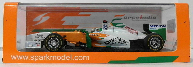 Spark Models Models Models 1 43 Scale Resin S3024 - Force India VJM04 - Monaco GP 2011 f00346