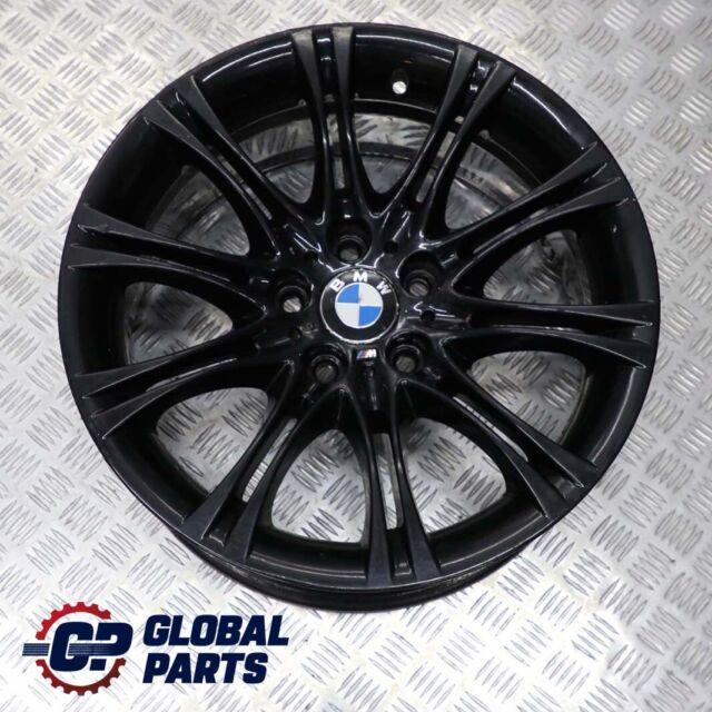 """BMW 5 Series E60 E61 Black Alloy Wheel Rim 18"""" ET:20 8J M Double Spoke 135"""