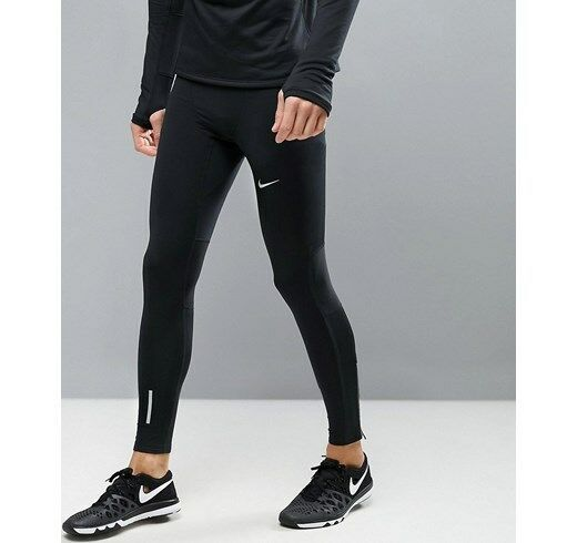 fbed7554e62 Nike Power Tech Men s Running Tights Large 642827 010 for sale online