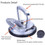 ZUOS-Aluminum-Alloy-Vacuum-Suction-Cup-Glass-Lifter-Car-Dent-Puller-Vacuum-for thumbnail 2