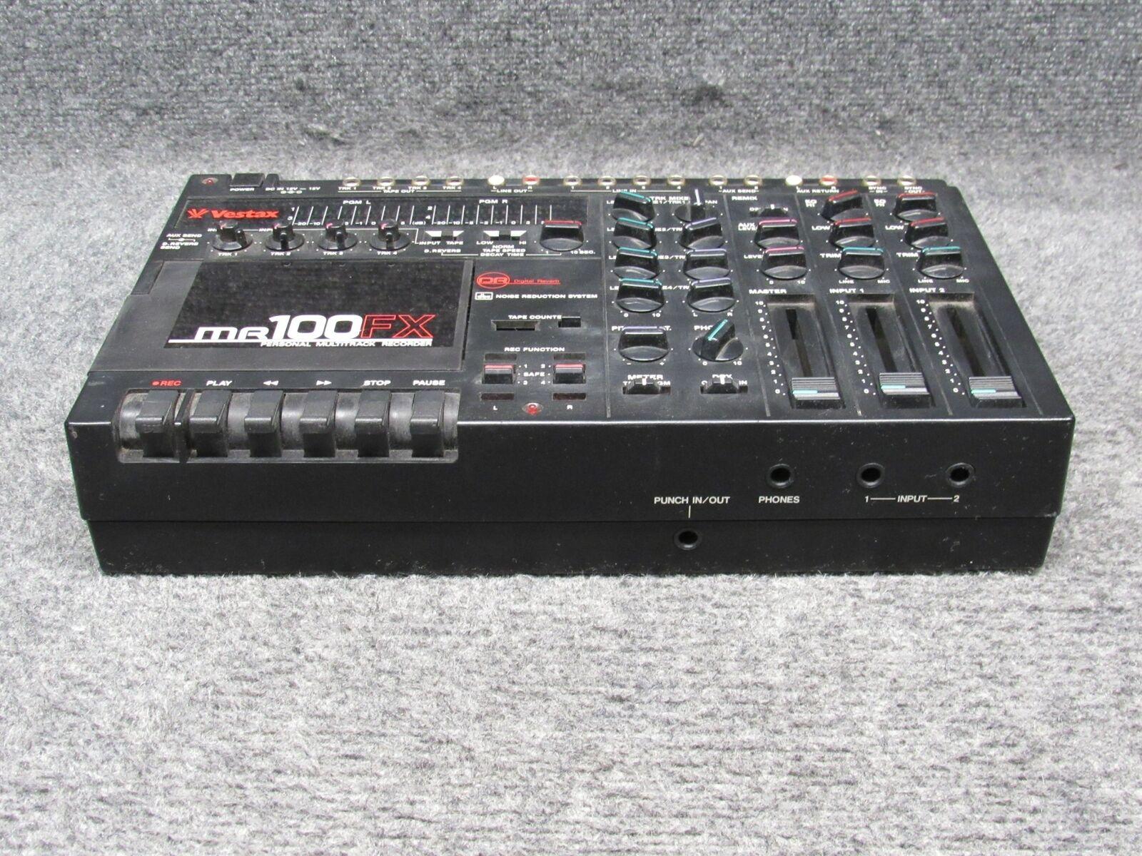 Vestax MR-100FX Multi-track Cassette Recorder Read Description