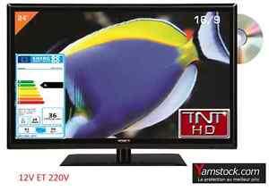Combine-Television-DVD-LED-24-039-61-cm-TNT-HD-USB-HDMI-pour-camping-car