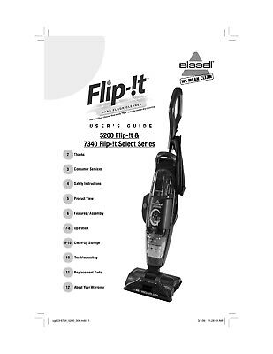 Ironing & Vacuuming Home & Garden Bissell Flip-!t Select Hard ...