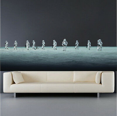 s76 Imperial Walker Wall Decal AT-ACT Star Wars Bedroom Wall Sticker Rogue One