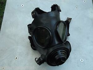 Military 40mm//NATO Gas Mask w//Drink Port /& NBC//CBRN Filter Carry Pouch Hood