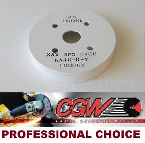 "5/""x1-1//2/""x1-1//4/"" 46 Grit White A//O Type 6 Straight Cup Wheel WA46-K-V CGW #34930"