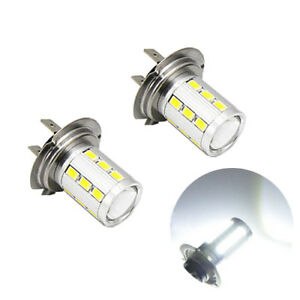2-ampoules-a-LED-culot-H7-Blanc-5630-pour-les-anti-brouillard-en-feux-de-jour