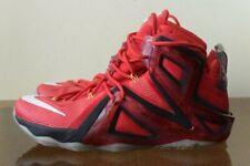 online retailer 85f2f f1258 Nike Lebron XII 12 Elite 724559-618 Size 8 University Red WTL Rose Gold
