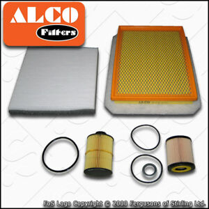 VAUXHALL-ZAFIRA-MK2-B-1-9-CDTI-OIL-AIR-FUEL-CABIN-FILTER-SERVICE-KIT-2005-2014
