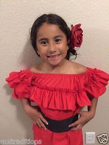 73c0836bf3 Mexican Girl Children Blouse 5 de Mayo Fiesta.Blusa Fiesta Mexicana ...