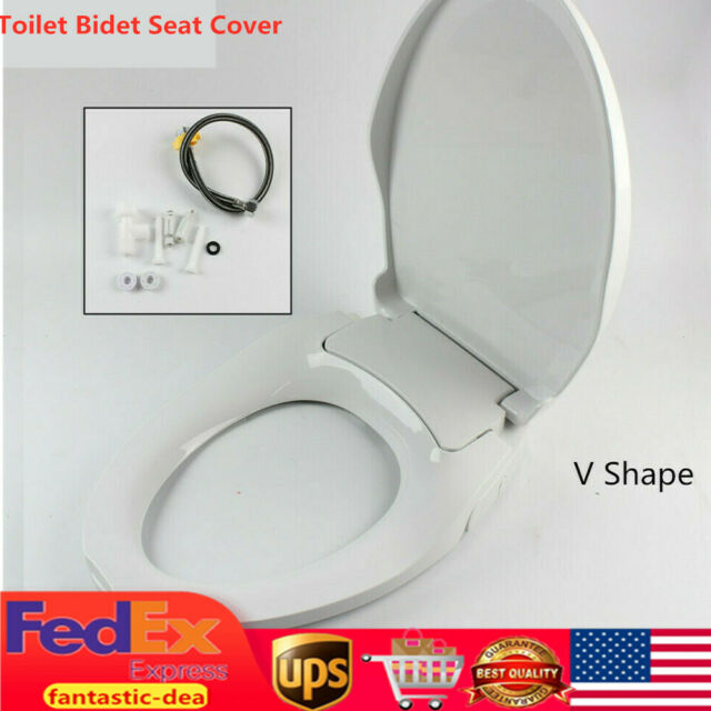 Meco Type O Non Electric Bidet Toilet Seats With Cover Bathroom Washlet Spray For Sale Online Ebay