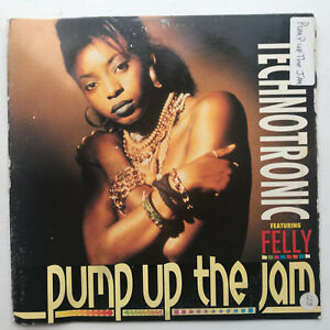 Technotronic-Pump-Up-The-Jam-Vinyl-Record-Original-1989-House-Music-12-034
