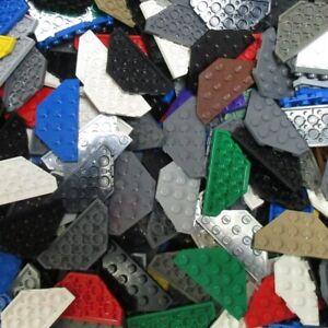 Used-LEGO-500g-Packs-Modified-Plates-2419-Platte-3-x-6-Ecke