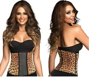 49251d9f2c Image is loading Ann-Chery-Waist-Trainer-Latex-Workout-Body-Shaper-