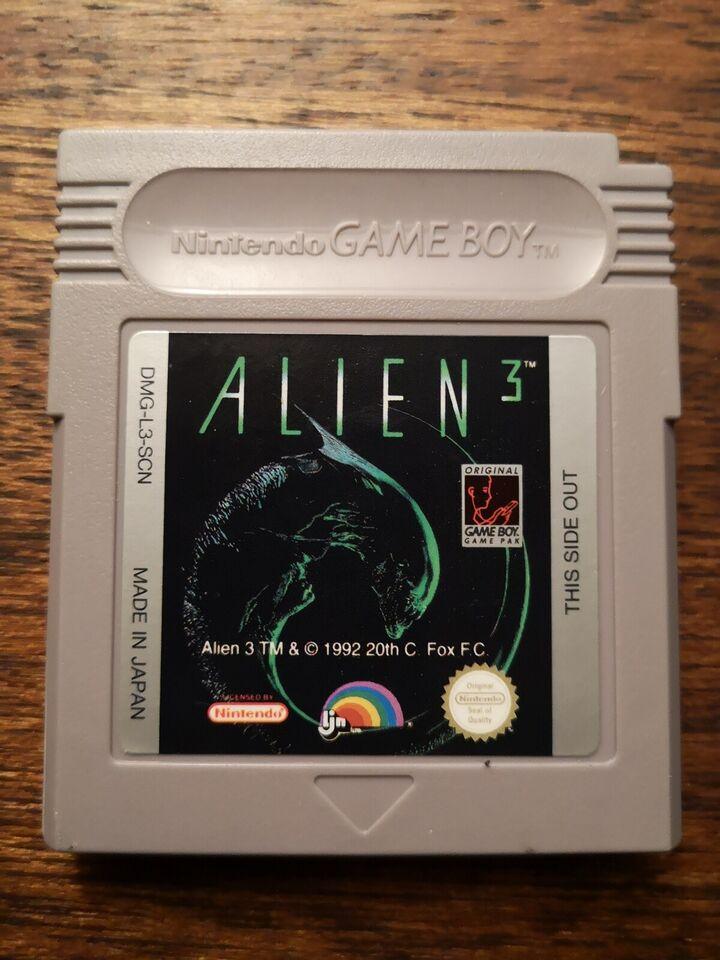 Alien 3, Gameboy, action