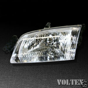 Image Is Loading 2000 2002 Mazda 626 Headlight Lamp Clear Lens