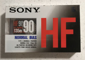 SONY HF 90c High Fidelity Recording Audio Cassette Type I Tape Sealed