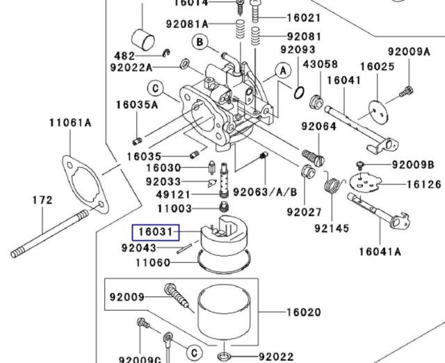Genuine Oem John Deere M76505 Float