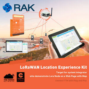 Details about IoT Solution Experience Kit,LoraWan Location system, LoRa  Node Tracker Board GPS
