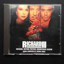 Trevor Jones RICHARD III Film Soundtrack OST CD 1995 Ian McKellen Shakespeare UK