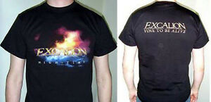 EXCALION-High-Time-T-Shirt-size-L-NEW