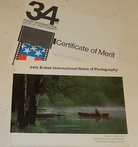 Guide-34th-KODAK-International-Salon-of-Photography-Rochester-1969-Certificat