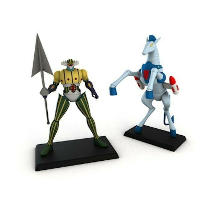 GO NAGAI ROBOT COLLECTION SPECIAL  7 JEEG ROBOT D'ACCIAIO  + ANTARES FIGURE