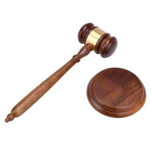 Judge-Wood-Gavel-Wooden-Auction-Hammer-Court-Hand-Craft-Tool-Handmade-Sale-Decor