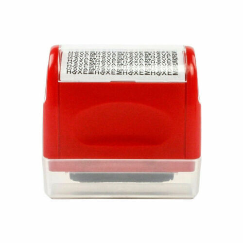 Identity Protect Confidential Secure Data ID Wide Roller Stamp Ink Refill Tube