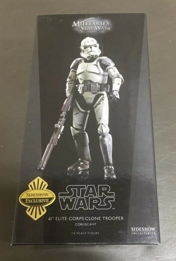 41st Elite Corps Clone Trooper Coruscant STAR WARS SIDESHOW 1:6 Scale 12
