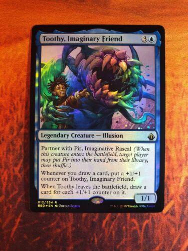 1 x Toothy Imaginary Friend x1 FOIL NM Battlebond MTG War of the Spark
