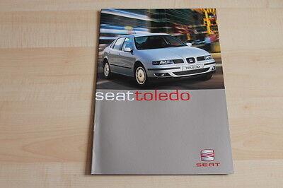 79046) Seat Toledo Prospekt 06/2000 Modischer (In) Stil;