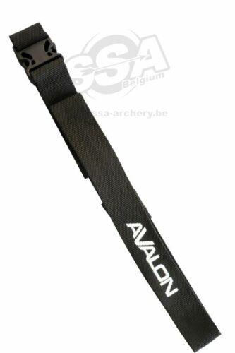 Schwarz Bogenschießen Avalon Gürtel Klickverschluss für Köcher Bogensport