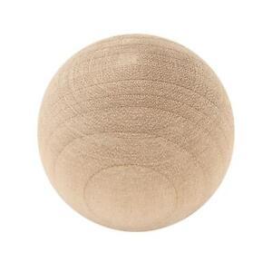 """P10506C-BIR Birch Wood 1 1/4"""" Round Ball Cabinet Drawer Knob"""