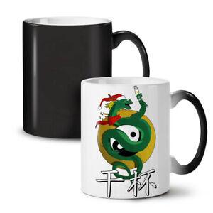 Chinese Yin Yang NEW Colour Changing Tea Coffee Mug 11 oz | Wellcoda