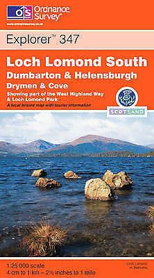 100% Waar Loch Lomond South By Ordnance Survey-exlibrary