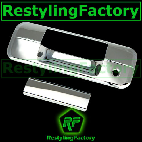 07-13 TOYOTA TUNDRA CREW MAX DOUBLE CAB Chrome Tailgate Handle Cover