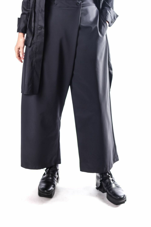CHAMPAGNE Horatio AVANTGARDE Pantaloni Wrap TAGLIA TAGLIA TAGLIA XL NERO POWER Popeline  XL ne ba7b98