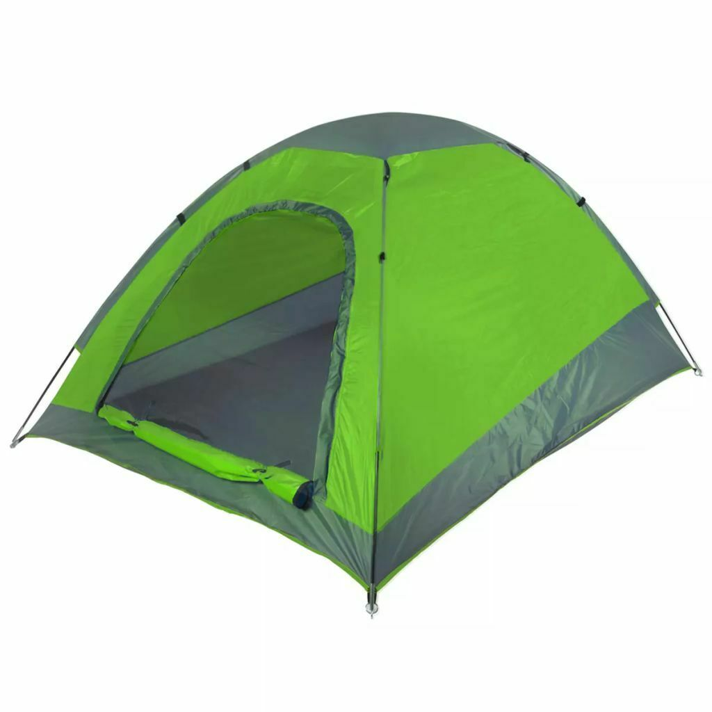 Camp Gear 2-Person Tent Shelter Screen Festival 210x155x115 cm Lime 4471504