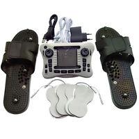 2 Units Tens Ems Massager Full Body Pain Release+massage Slipper+pa For Parent