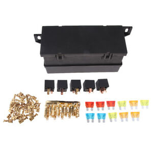 image is loading universal-11-ways-auto-fuse-box-assembly-with-