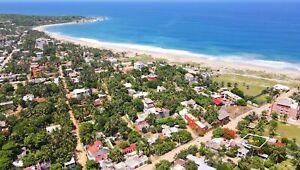 Terreno en Playa La Punta Zicatela Puerto Escondido Oaxaca
