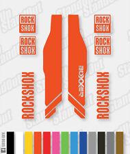 FORCELLA di sospensione RockShox BoxxeR 2013 stile le decalcomanie / gli adesivi - 12 + colori personalizzati