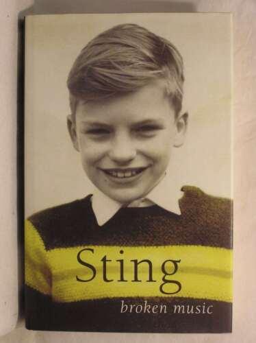 1 of 1 - Broken Music: Memoirs, Sting, Very Good Book