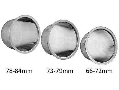 Teapot Tea pot Replacement Stainless Steel Mesh Strainer Infuser 73-79mm diameter