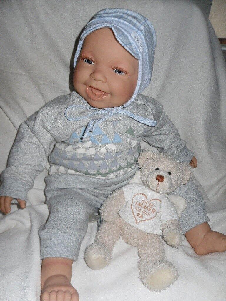 Traumdolls Puppe Doro Dolls Rebornbaby Frossoerik 54 cm Puppe Kinderpuppe Baby