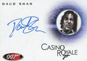 James-Bond-in-Motion-2008-Daud-Shah-as-Fisher-Autograph-Card-A101