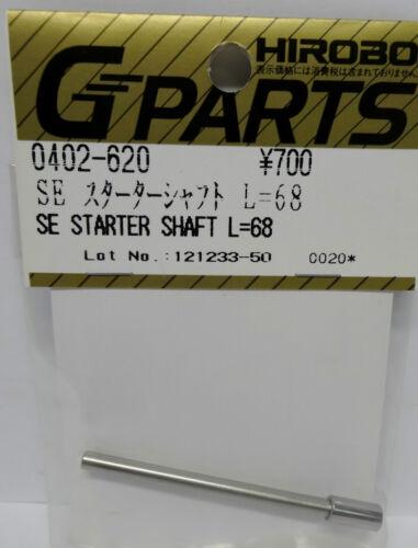 Hirobo 0402-620 Starter Welle L= 68 mm SE Starter Shaft L=68