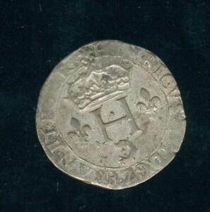 Henri III Double Sol Parisis Of Dauphiné 1585