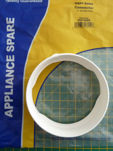 """SEE DETAILS FOR USE 102MM TUMBLE DRIER VENT HOSE CONNECTOR 4/"""""""